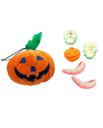 Zucca Halloween Peluche con Caramelle Ravazzi Horror 40gr