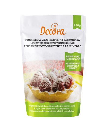 Zucchero a Velo Resistente all'Umidità Decora 250gr