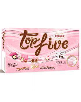Confetti Crispo Snob TopFive Mix Gusti Rosa Sfumati 1Kg