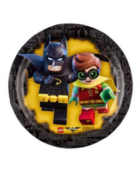 Piattini Carta Dessert LEGO Batman
