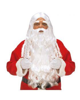 Parrucca e Barba Babbo Natale Quality