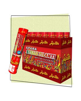 Tubo Spara Stelle Filanti Multicolor 30cm