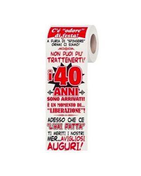 Carta Igienica 40 Anni