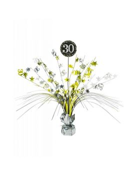 Centrotavola Happy Birthday 30 Anni Sparkling