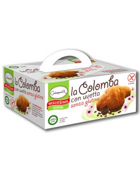 Colomba con Uvetta Senza Glutine Giampaoli 350gr