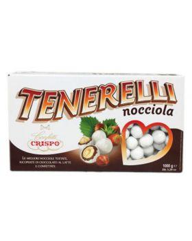 Confetti Crispo Tenerelli alla Nocciola Bianchi 500gr