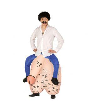 Costume Maxi Pene e Testicoli Gonfiabile