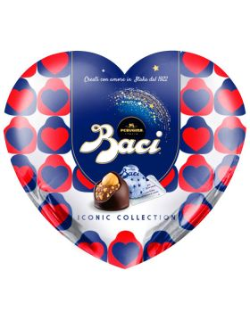 Scatola Cuore Latta con Baci Perugina Classici Iconic Collection 100gr
