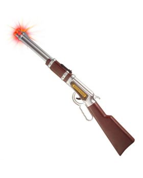 Fucile Cowboy con Effetto Sparo 65cm