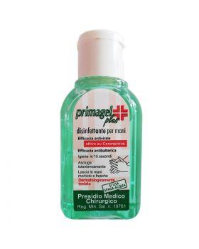 Mini Gel Igienizzante Mani Primagel Plus 50ml Attivo