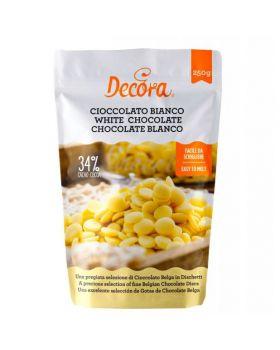 Gocce Dischetti Cioccolato Bianco Decora