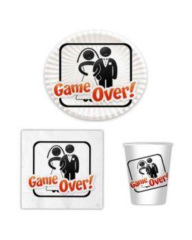 Kit Coordinato Tavola Game Over per 8 persone