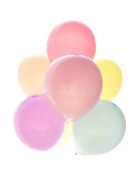 Palloncini Lattice Medi Multicolor Colori Pastello 20pz Biodegradabili