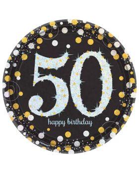Piatti Carta Grandi 50 Anni