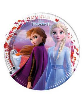 Piatti Carta Frozen II