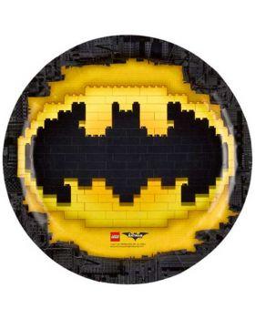 Piatti Carta Lego Batman
