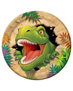 Piatti Grandi Carta Dino Blast T-Rex