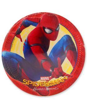 Piatti Carta Spiderman