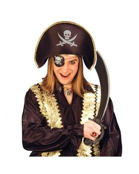 Set Pirata Cappello, Spada e Benda per Adulto