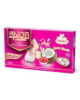 Confetti Crispo Snob Cocco e Lampone 500 gr