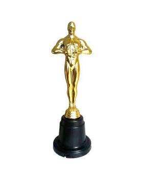 Statuetta Premio Oscar Winner con Etichetta da Scrivere 28cm