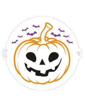 Stencil per Torte Zucca di Halloween Decora 25cm