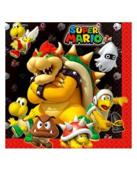 Tovaglioli Carta Super Mario